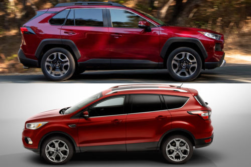 2019 Toyota RAV4 vs. 2019 Ford Escape: Which Is Better?