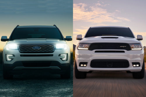 2019 Ford Explorer vs. 2019 Dodge Durango: Which Is Better?