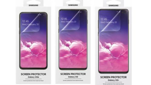 All Galaxy S10 cases, covers leaked: Remember that screen issue?