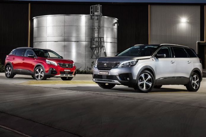 Peugeot 3008 and 5008 Crossway Editions released