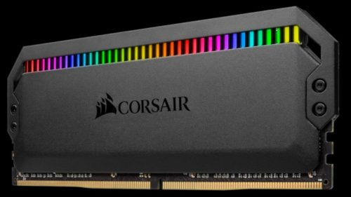 Corsair Dominator Platinum RGB RAM crams 12 LEDs in a single DDR4 stick