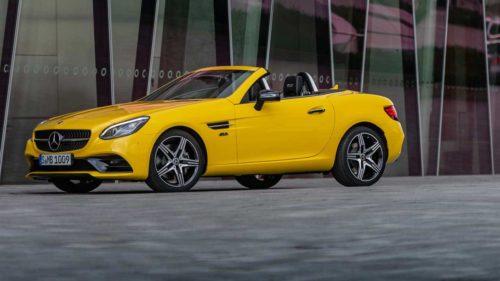 Mercedes-Benz SLC Final Editions bid a fond farewell to the SLC