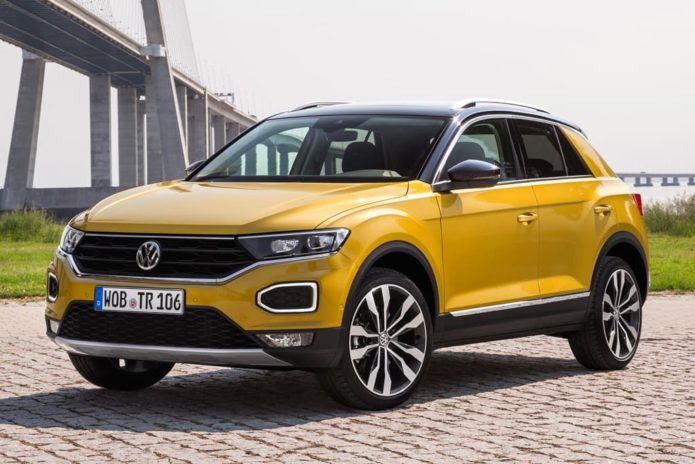 Volkswagen T-Roc and T-Cross here within a year