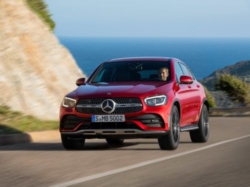 The 2020 Mercedes-Benz GLC Coupe Is Updated to Keep the Style-Conscious Happy