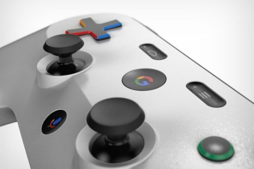 Google Yeti games controller appears in patent, concept render follows
