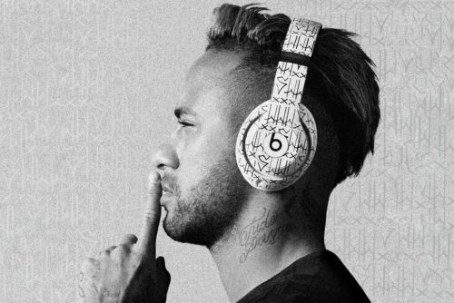 Custom Neymar Beats Studio3 Wireless headphones add a little Brazilian flair