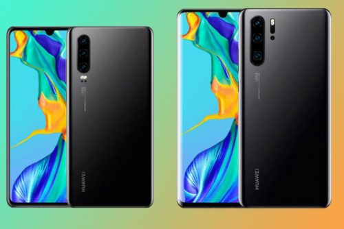 Official Huawei P30 and P30 Pro renders appear, plus more spec details