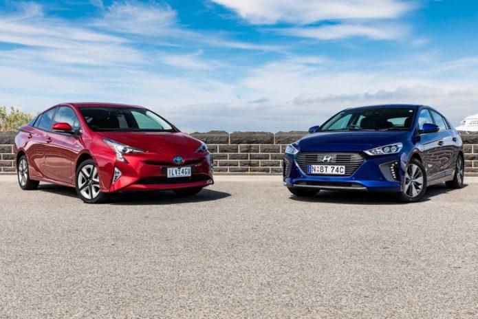 2019 Toyota Prius i-Tech v Hyundai IONIQ Premium Plug-In Hybrid Comparison