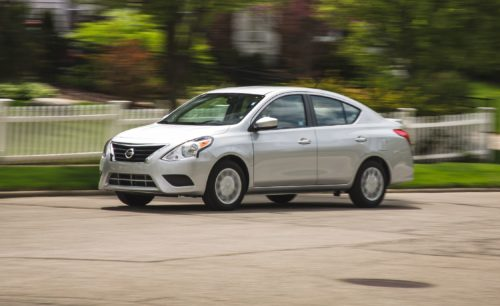 2020 Nissan Versa Sedan Looks to Put a New Face on Cheap Basic Transportation