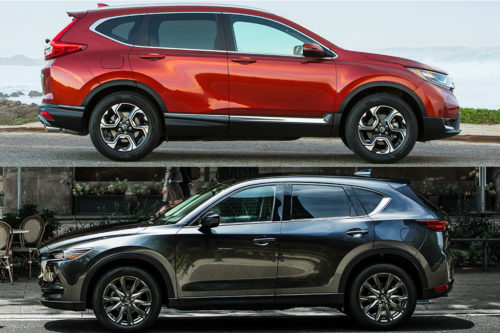 2019 Honda CR-V vs. 2019 Mazda CX-5: Which Is Better?
