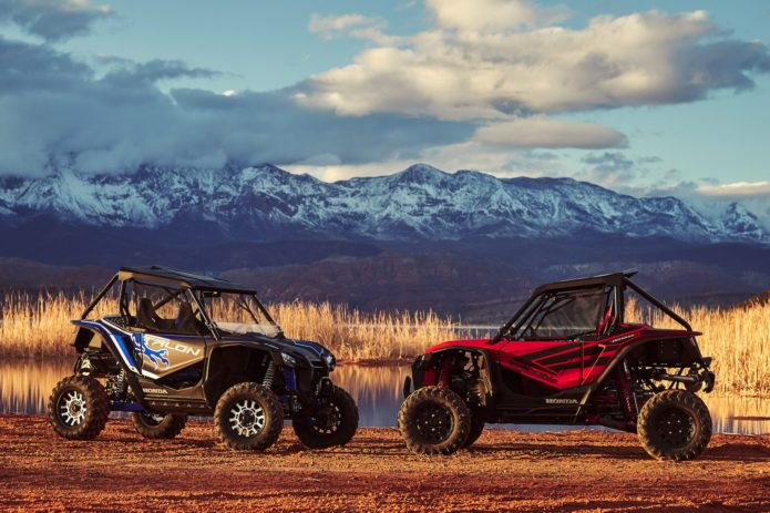 2019 Honda Talon 1000X and 1000R Review: SxS Experience