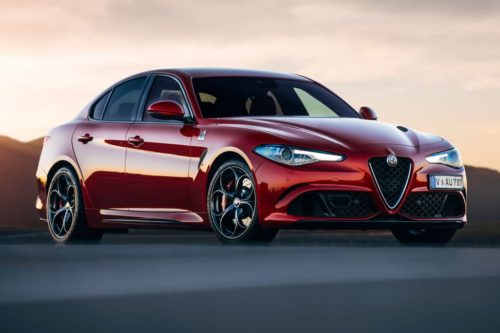 Alfa Romeo Guilia Q takes five
