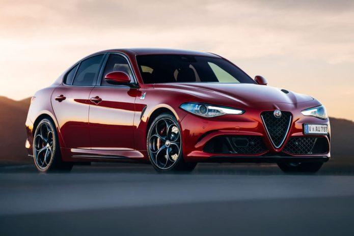 Alfa Romeo Guilia Q takes five