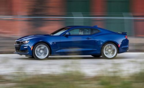 The 2019 Chevrolet Camaro SS Automatic Is Quick but Looks Funky