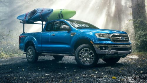 2019 Ford Ranger goes dark with new appearance package