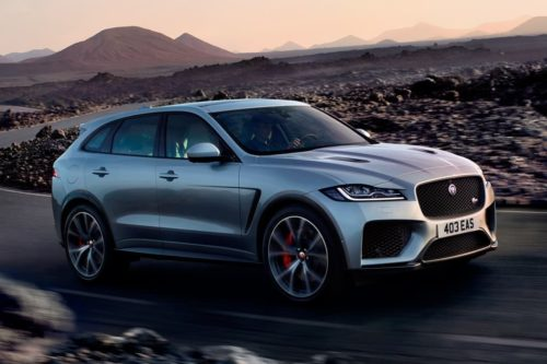 Flagship Jaguar J-PACE SUV set for 2021 debut