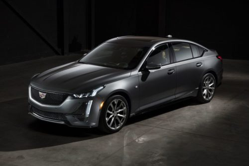 2020 Cadillac CT5 luxury sedan gets turbocharged power, chiseled looks