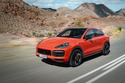 The 2020 Porsche Cayenne Coupe is an exercise in form-over-function design
