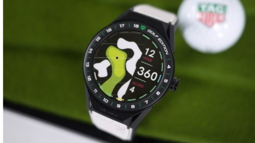 Tag Heuer Connected 45 Modular Golf Edition Hands-on : First look