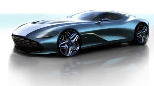 Aston Martin shows stunning DBS GT Zagato renderings