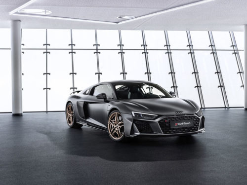 Audi R8 V10 Decennium celebrates 10 years of 10-cylinder power