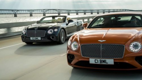 Bentley Continental GT V8 drops 542hp into sleek coupe and convertible
