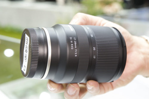 Tamron 17-28mm f/2.8 Di III RXD Lens Hands-on at CP+ 2019