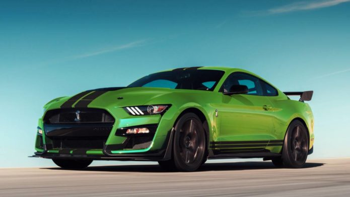 2020 Mustang Grabber Lime paint job is eye-searingly retro