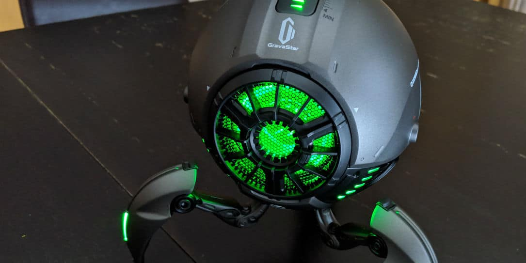 Gravastar Review Sci Fi Inspired Speaker With Cool