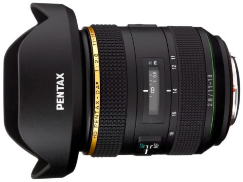 CP+ 2019: Ricoh shows PENTAX-DA* 11-18mm F2.8 ED DC AW