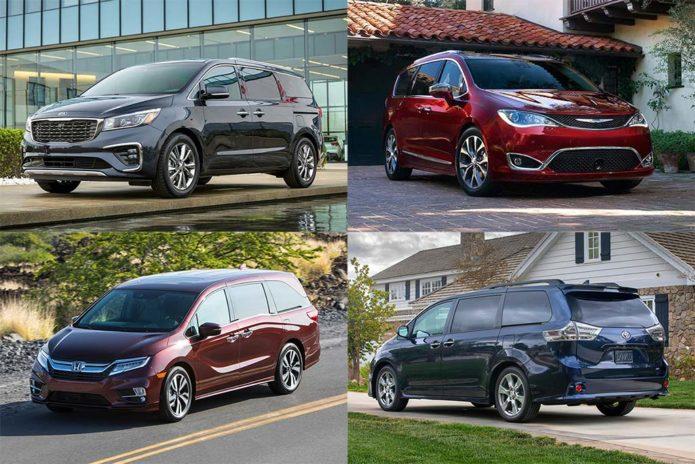 Minivans under 40k