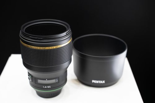 CP+ 2019: a look at the Pentax 85mm F1.4 and KP Custom