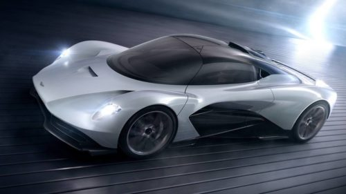 Aston Martin AM-RB 003 takes Valkyrie hybrid hypercar tech to the road