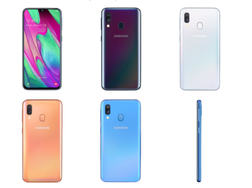 Samsung Galaxy A40 now official