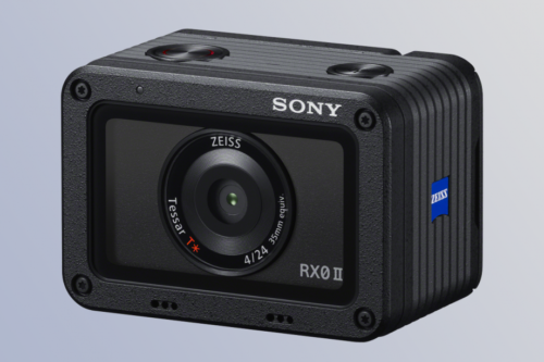 Sony's RX0 II is a premium action cam for extreme vlogging