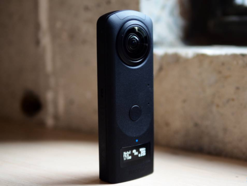 Ricoh Theta Z1 hands-on: A 360 camera with new focus