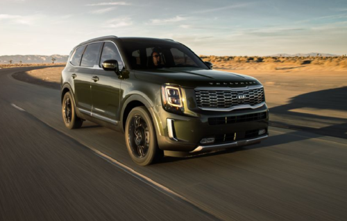 The 2020 Kia Telluride Brings Serious Game to the Three-Row-SUV Space