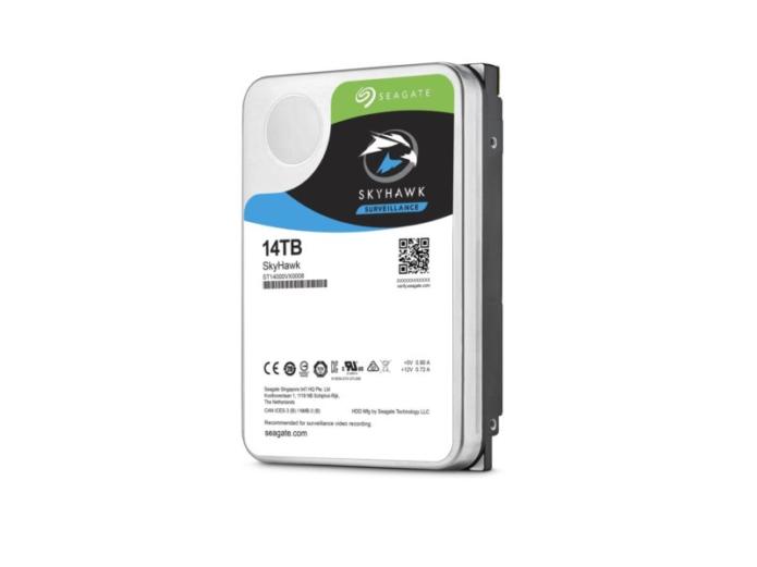 Seagate SkyHawk 14TB hard drive review: Fast, surveillance-optimized storage