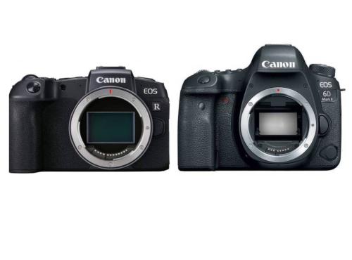 Canon EOS RP vs Canon EOS 6D Mark II – Comparison