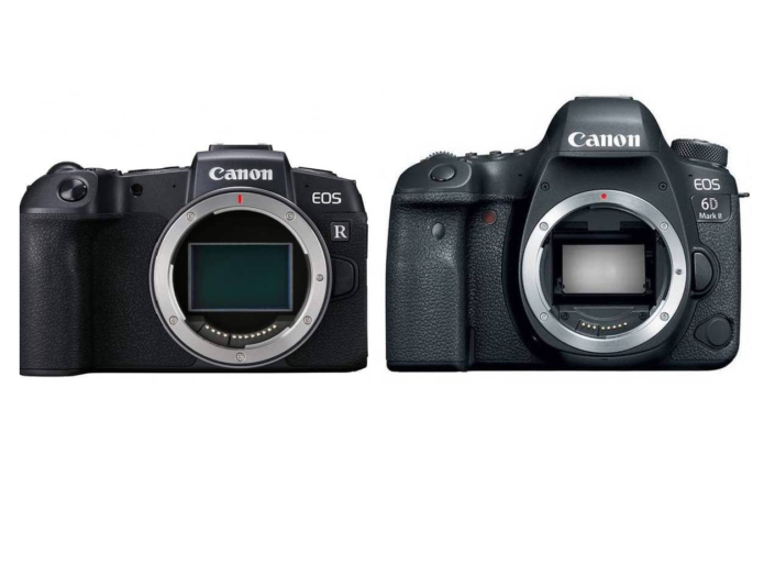 Canon EOS RP vs Canon EOS 6D Mark II – Comparison