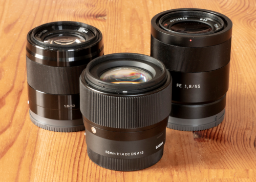 Sony E 50mm f/1.8 vs Sigma 56mm f/1.4 vs Sony FE 55mm f/1.8 – The complete comparison