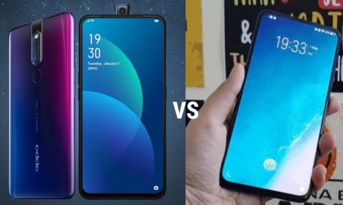 OPPO F11 Pro vs Vivo V15 Pro specs comparison