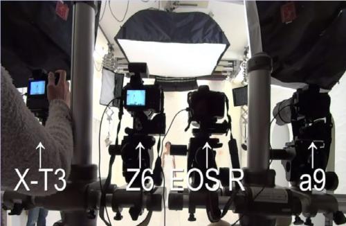Canon EOS R, Nikon Z6, Sony a9, Sony a7III, Sony a6400 and Fujifilm X-T3 Eye AF Test Comparison