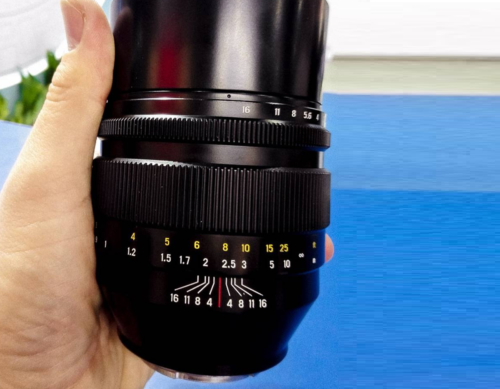Rumors : Zenitar 50mm f/0.95 Full Frame E-mount Lens Coming on March 15