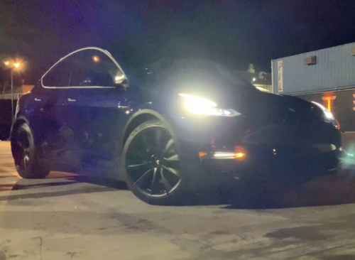 Tesla Model Y first ride: The new and the familiar