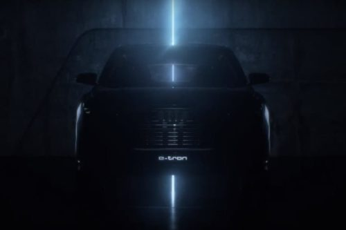 2020 Audi Q4 e-tron SUV teased ahead of Geneva
