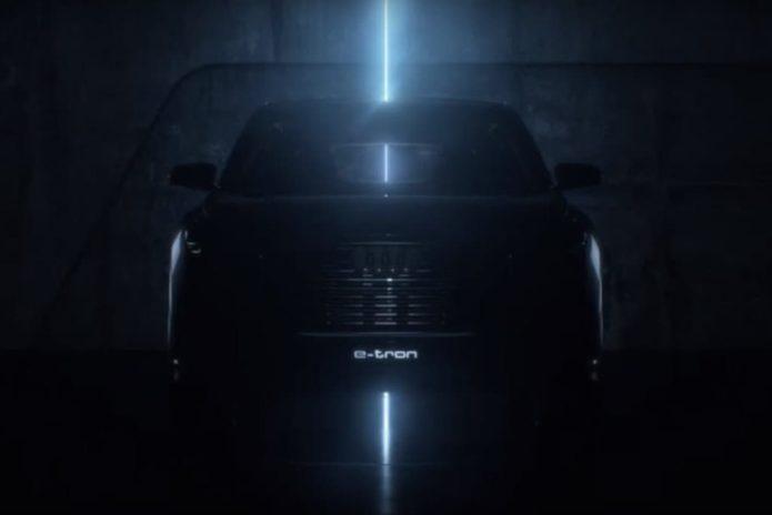2020 Audi Q4 e-tron SUV teased ahead of Geneva