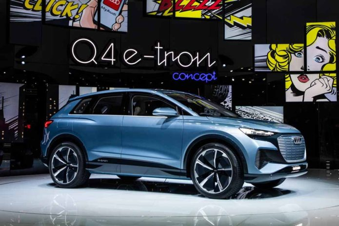 Battery power only for Audi Q4