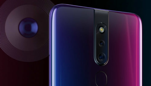 The AI in the OPPO F11 Pro aims to make it easier to take portrait photos in low light