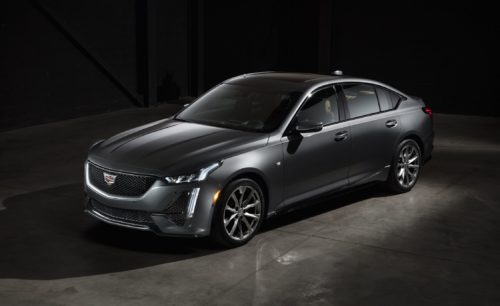 """The 2020 Cadillac CT5 Sedan Is Exposed with a """"Sensual"""" Social-Media Campaign"""